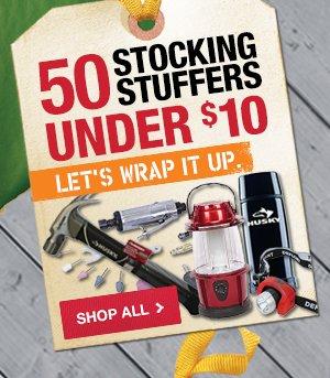 50 Stocking Stuffers Under $10