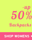 Shop Womens Up To 50% Off Backpacks and Wallets