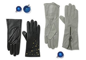 Luxe Gloves: Leather & Cashmere