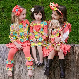 Cute & Coordinated: Girls' Apparel