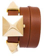 Brown-Gold Cairo Wrap Watch