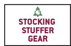 Shop 'Stocking Stuffer' Gear