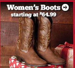 Women's Boots Starting at $64.99