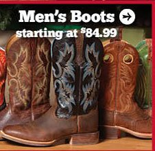 Men's Boots Starting at $84.99