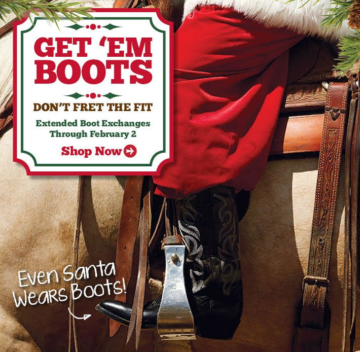 Get Em Boots - Don't Fret The Fit.