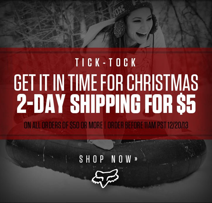 2-Day Shipping For $5!