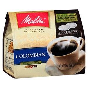 Melitta soft coffee pods