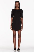 MARC BY MARC JACOBS Black Ponte knit Sophia Dress for women