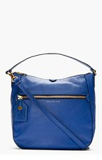 MARC BY MARC JACOBS Royal Blue Globetrotter Kirsten Hobo Bag for women