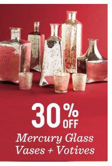 30% off mercury glass