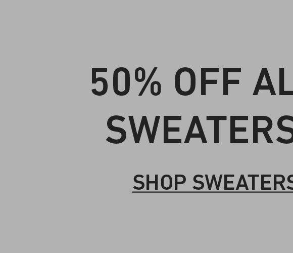 50% Off Women's Sweaters