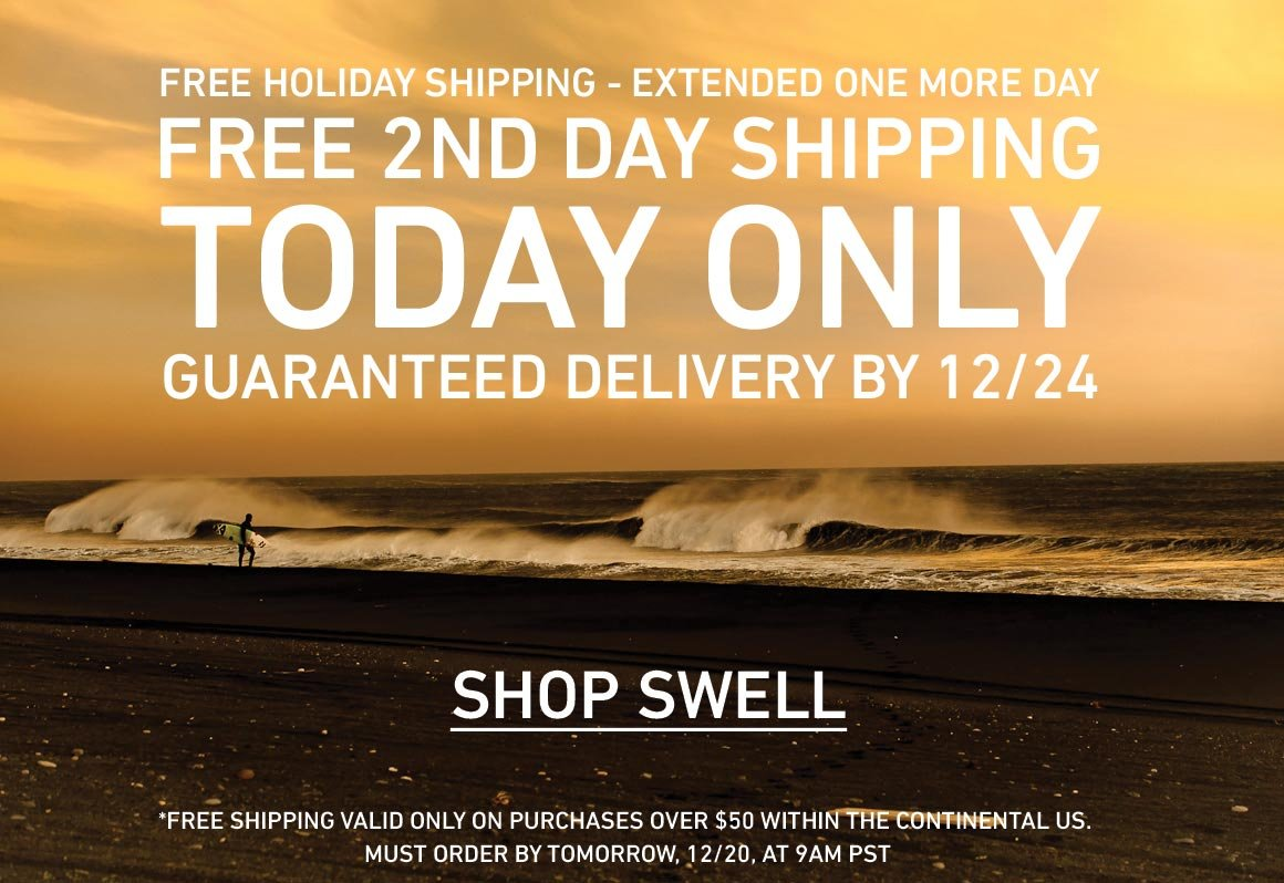 FREE 2ND DAY Guaranteed On-Time Shipping! Order by 12/20 at 9AM PST for Guaranteed 12/24 Delivery