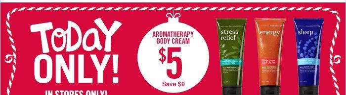 Aromatherapy Body Cream – $5