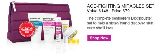 Age-Fighting Miracles Set Value $148 | Price $79