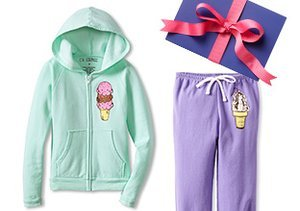 By the Fireplace: Girls' Lounge Sets