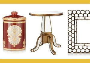 Gorgeously Gilded: Gold Décor Accents