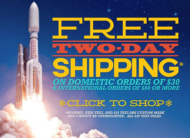 Free Two Day Shipping On Select Orders - Click To Shop!