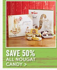 50% off All Nougat Candy