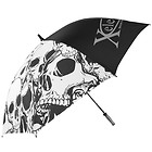 Xelement Skulls 8-Panel 51 Inch Umbrella