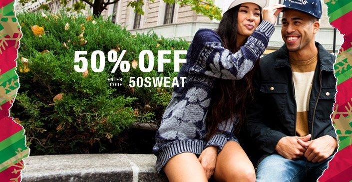 2. Sweatshirts & Sweaters