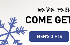 COME GET FESTIVE WITH US - MEN'S GIFTS