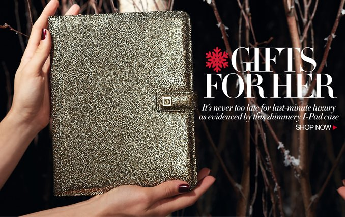 Gifts For Her: iPad Case