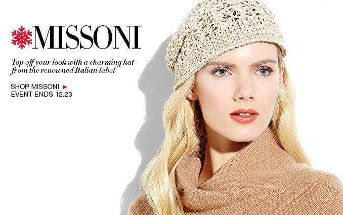 Shop Missoni Accessories - Ladies