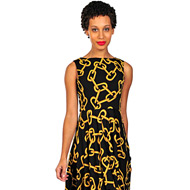 Isaac Mizrahi Live! Patterned Print Dress