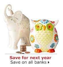 Save for next year save on all banks