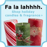 Shop Holiday Candles & Fragrance