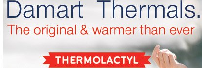 Damart Thermals - The original and warmer than ever