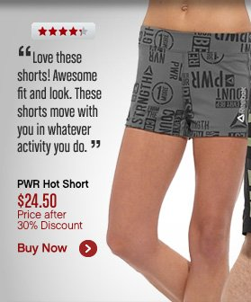 PWR Hot Short $24.50 Price after 30% Discount. Buy Now›