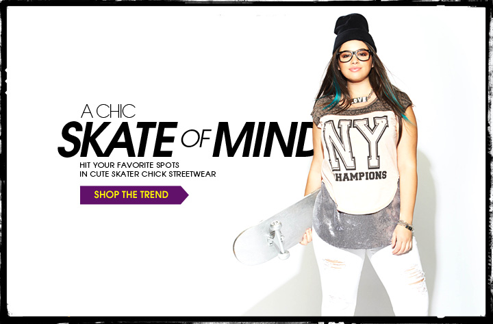 A Chic Skate of Mind