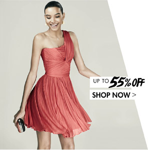 HALSTON HERITAGE. Up to 55% off. SHOP NOW