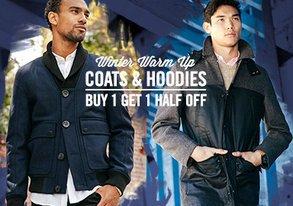 Shop Winter Warm Up ft. Coats & Hoodies