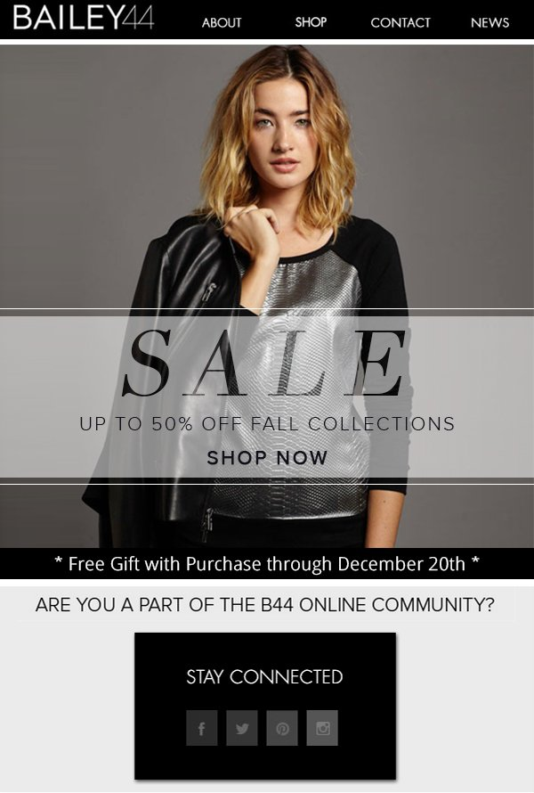 SALE UP TO 50% OFF FALL COLLECTIONS SHOP NOW