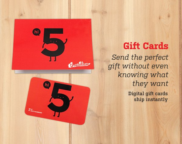 Digital gift cards ship instantly.