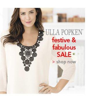Shop Ulla Popken Festive and Fabulous Sale