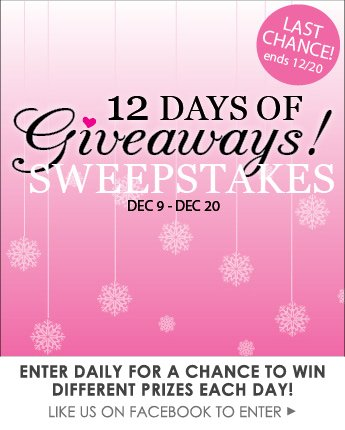 3rd-12 Days Sweepstakes