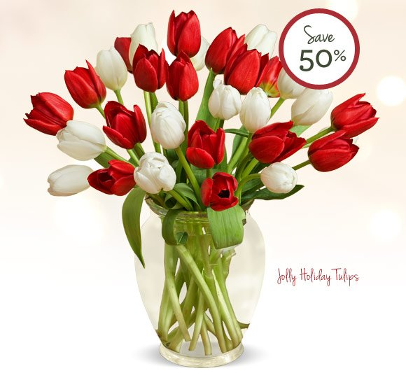 Holiday Flash Sale! 30 Tulips for just $30* - While Supplies Last