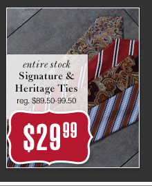 $29.99 USD - Signature & Heritage Ties