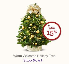 Warm Welcome Holiday Tree - Save 15% Create an inviting holiday wonderland! Shop Now