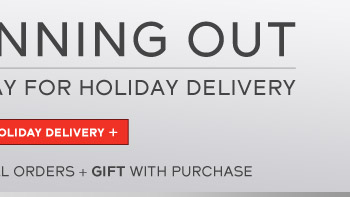 Free Overnight Shipping On All Orders + Gift With Purchase