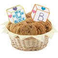 Gluten Free Baby Blocks Basket