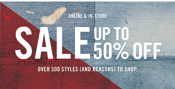 Online & in-store sale up to 50% off Over 500 styles (and reasons) to shop.
