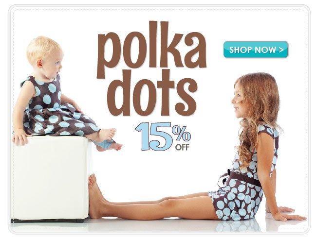 15% Off Polka Dot Boutique