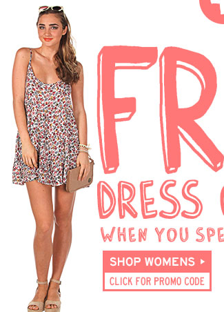 Free Dress With Purchase