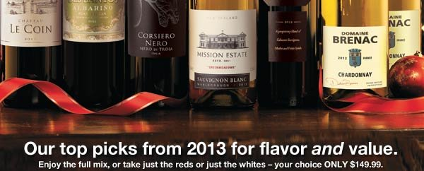 Our top picks from 2013 for flavor and value