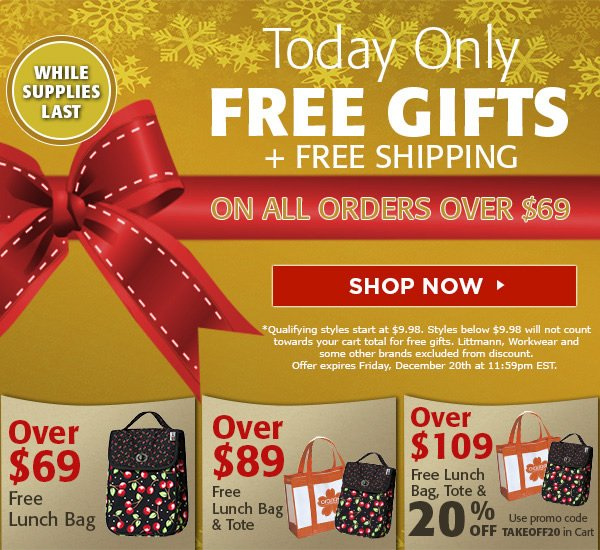 Free Gift + Free Shipping on all orders over $69 - Shop Now