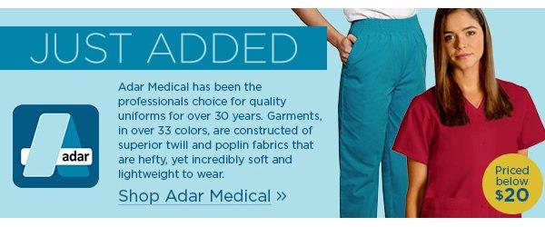 Just Added! Adar Medical - Shop Now
